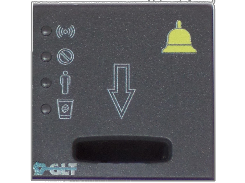 Electronic card lock for hotels SIMPLE KEY 1048/614 by GLT