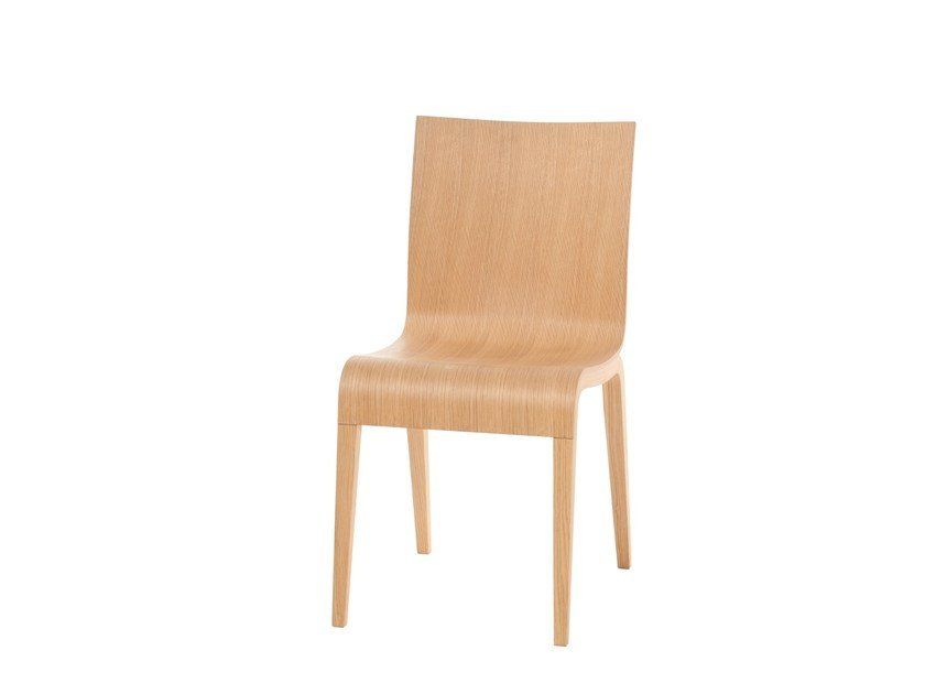Wooden chair SIMPLE by TON