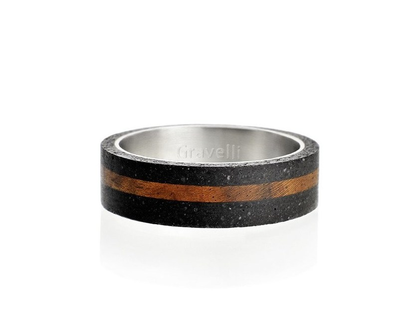 Anello SIMPLE WOOD by Gravelli