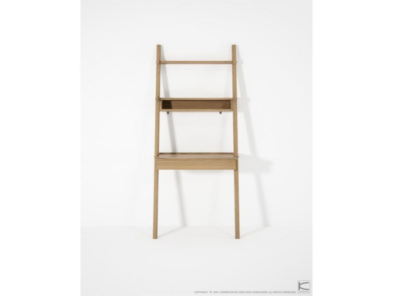 Oak Bookcase Secretary Desk Simply City By Karpenter