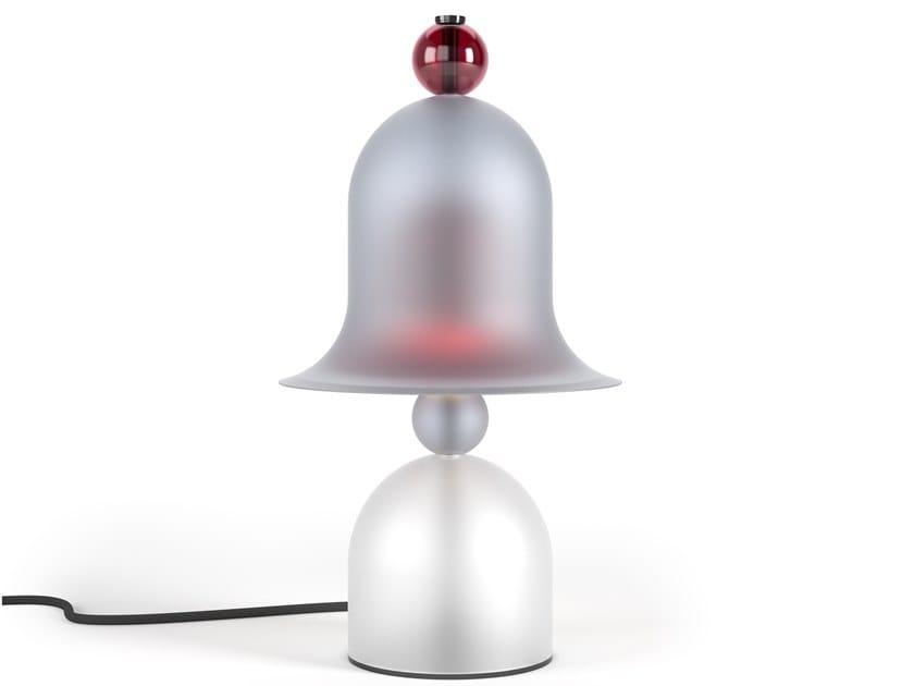 Lampada da tavolo fatta a mano in cristallo smerigliato SIREN | Lampada da tavolo by PRECIOSA Lighting