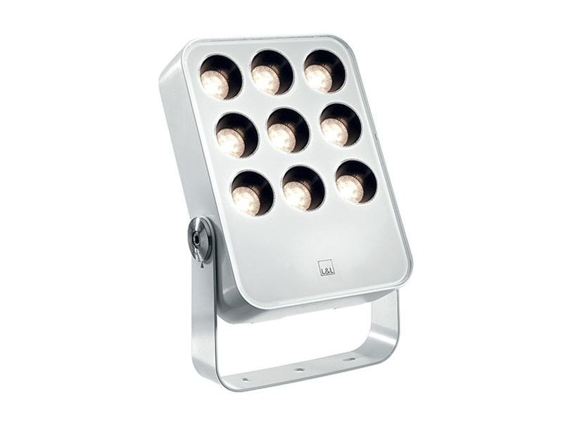 Die cast aluminium Outdoor floodlight SIRI 3.0 | Adjustable Outdoor floodlight by L&L Luce&Light