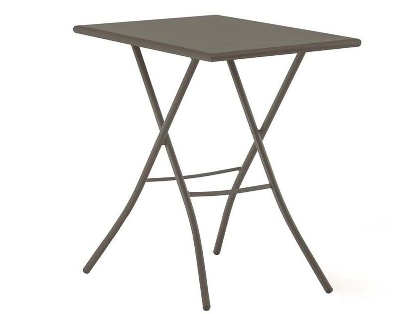 Folding rectangular garden table SIRIO 50x70 by FIAM