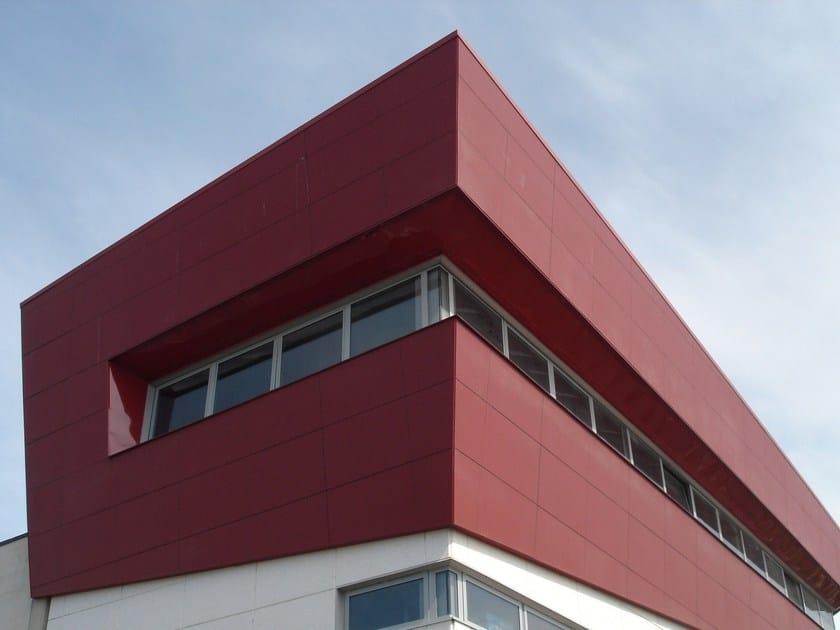 Steel Ventilated facade SIRIO by DALLERA TECNOLOGIE