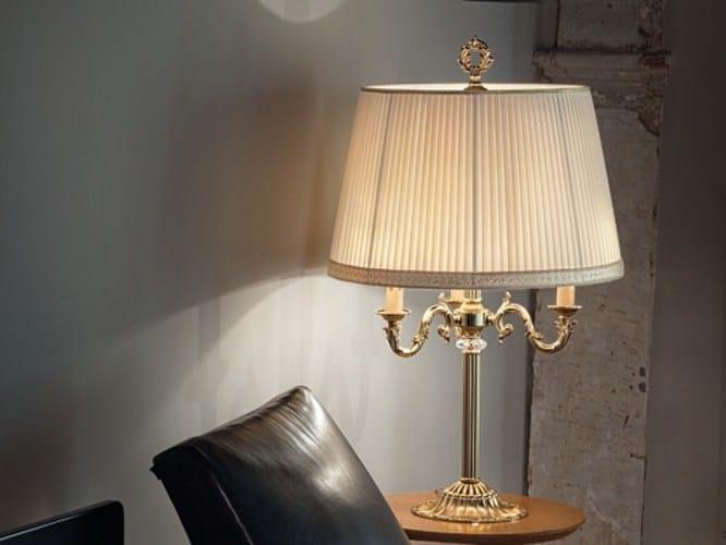 Table lamp with Swarovski® crystals SIRIO LG3 by Euroluce Lampadari