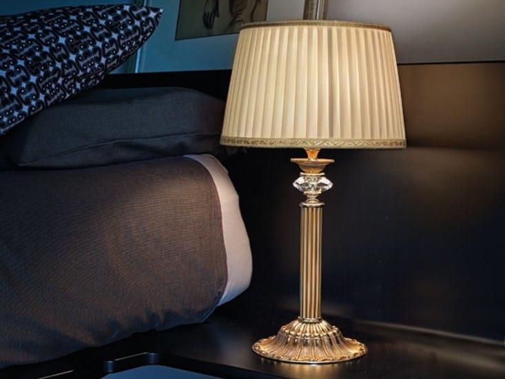 Table lamp with Swarovski® crystals SIRIO LP1 by Euroluce Lampadari