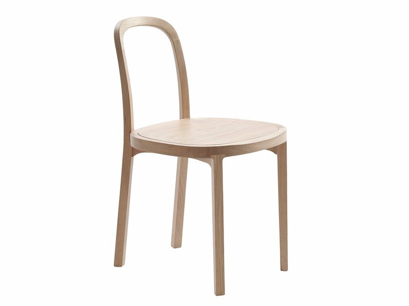 Oak chair SIRO + by Woodnotes