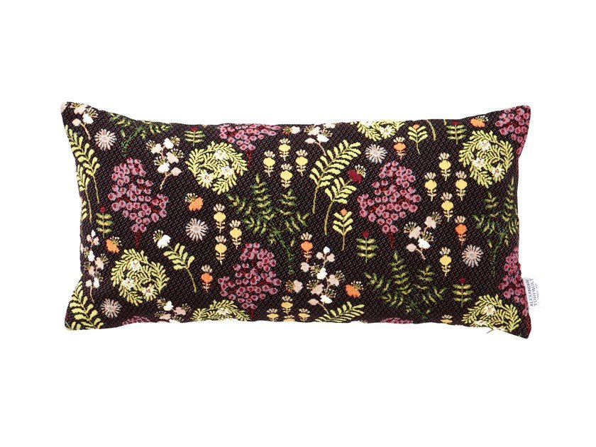 Cotton pillow case with floral pattern SISSI by Alexandre Turpault