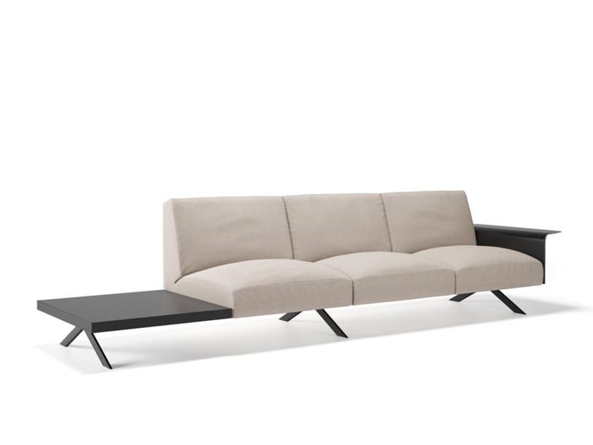 Modular sofa SISTEMA LEGS SOFT by Viccarbe