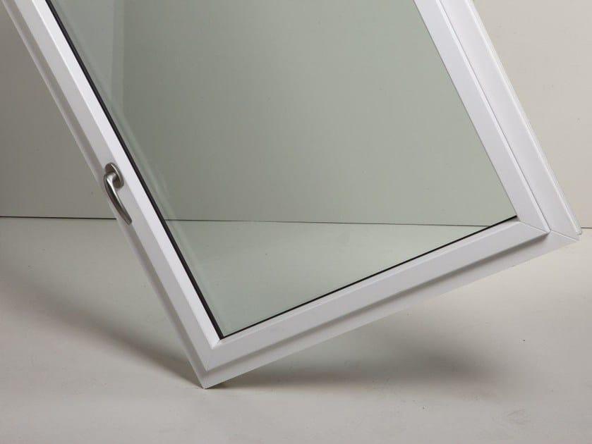 PVC casement window SISTEMA LUCE by Schulz Italia