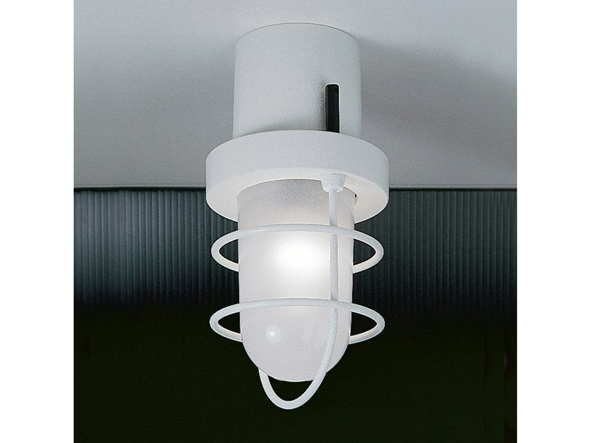LED resin ceiling lamp SISTEMA POLO | Ceiling lamp by Martinelli Luce