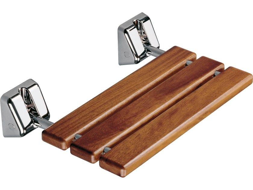 Folding iroko shower Seat SIT-IN by GEDY