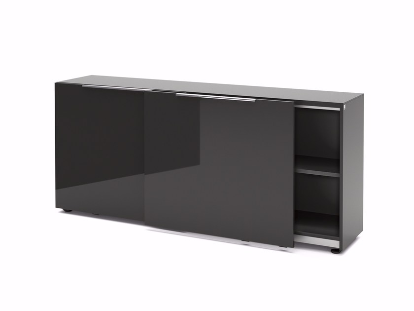 Office storage unit with sliding doors SITE | Office storage unit by RENZ
