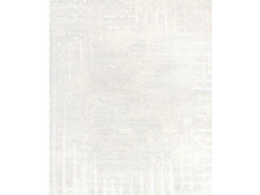 Handmade rectangular rug SIX WHITE by Tapis Rouge
