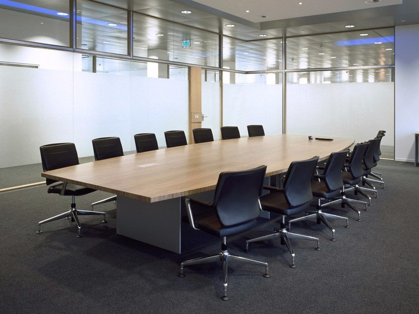 Wooden meeting table SIZE | Rectangular meeting table by RENZ