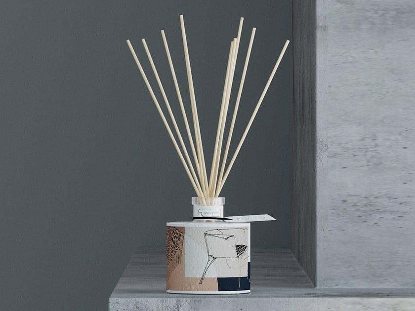Natural stone Air freshener dispenser SKETCH Prestige - Tabacco e Agrumi by IWISHYOU