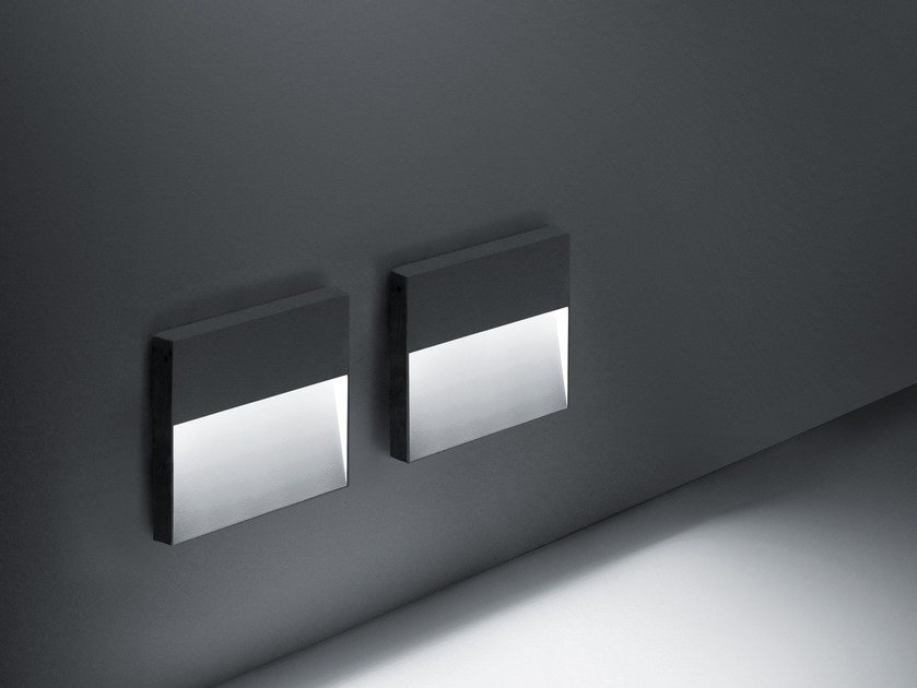 LED wall-mounted foot- and walkover light SKILL by SIMES