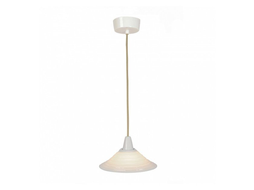 Direct light porcelain pendant lamp with dimmer SKIO | Pendant lamp by Original BTC