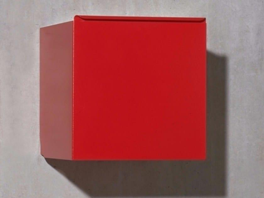 Powder coated steel wall cabinet SKIP by MOX