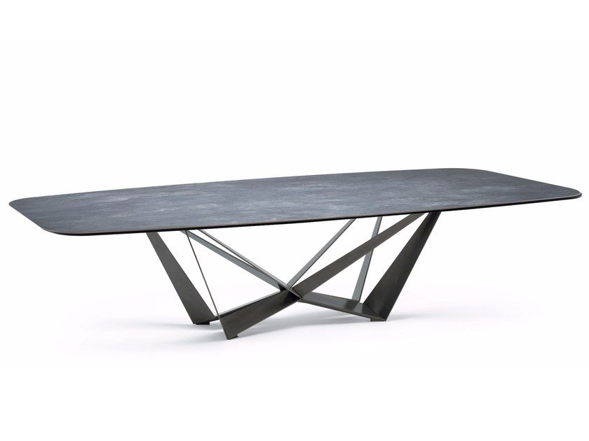 Rectangular ceramic table SKORPIO KERAMIK by Cattelan Italia