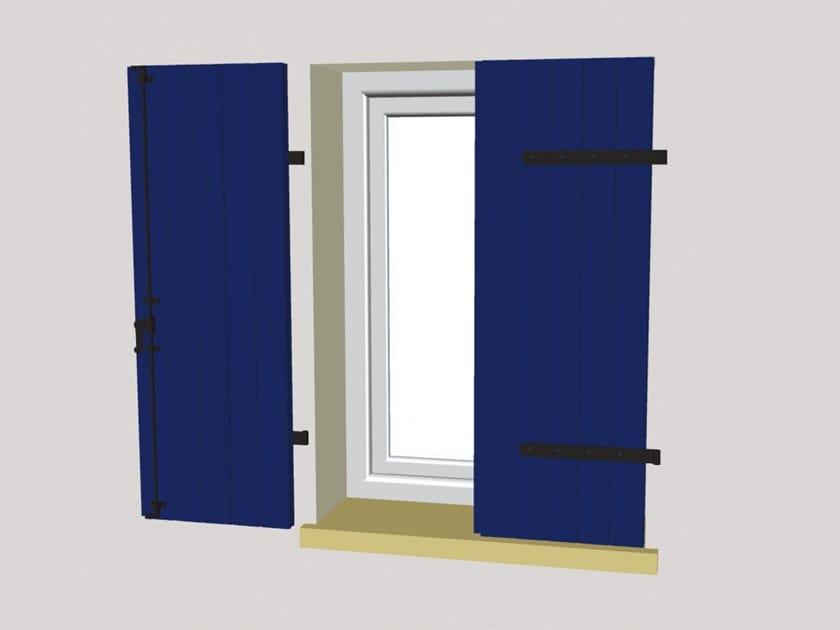 PVC panel shutter SKURO AD ANTONE by Ital-Plastick