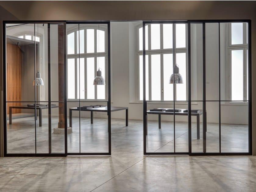 Porta scorrevole in vetro SKYE by Lualdi