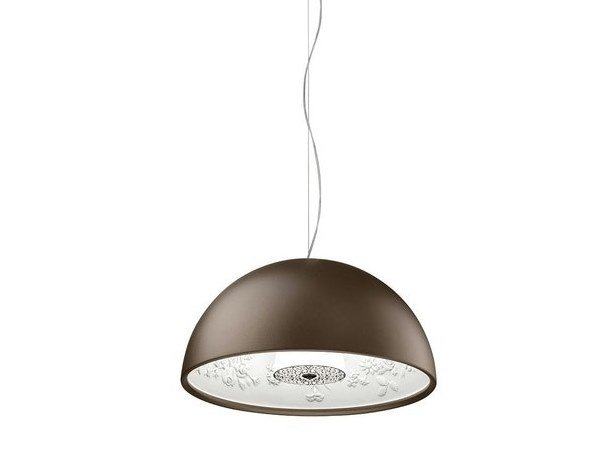 LED plaster pendant lamp SKYGARDEN SMALL by Flos
