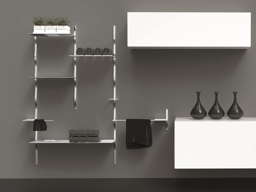 System of accessories for bathroom SKYLINE BATHROOM by Cosma
