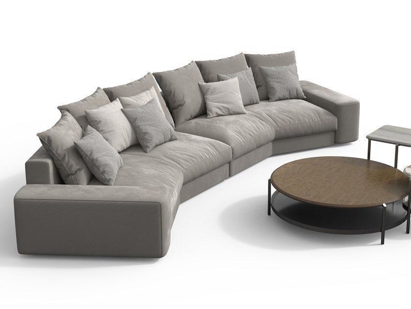 Skyline Curved Sofa By Giorgetti Design Carlo Colombo
