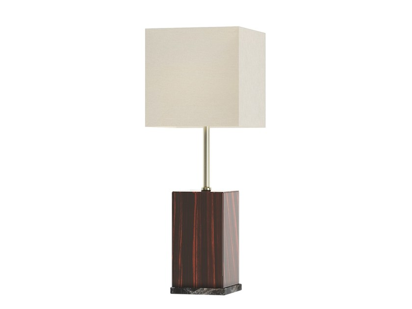 Solid wood table lamp SKYLINE Q by Capital Collection