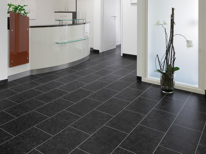 PVC flooring with stone effect SL 306 by PROJECT FLOORS