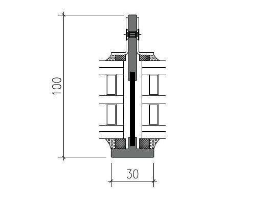 Steel thermal break window SL30-ISO® PLUS by PFT HEVO
