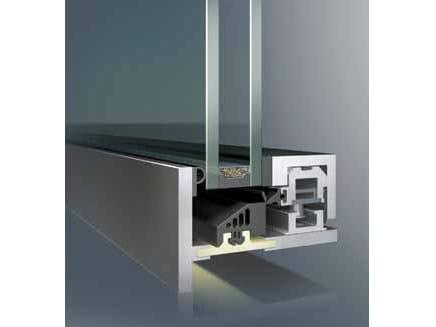 Steel thermal break window SL30® by PFT HEVO