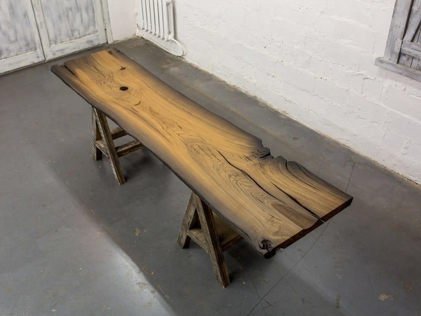 Bog oak Table Top SLAB 002/16 by EDWOOD