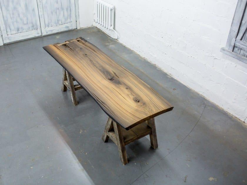 Bog oak Table Top SLAB 007/16 by EDWOOD