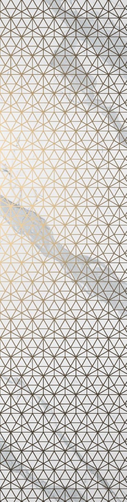 Statuario White Polished Prism Decor