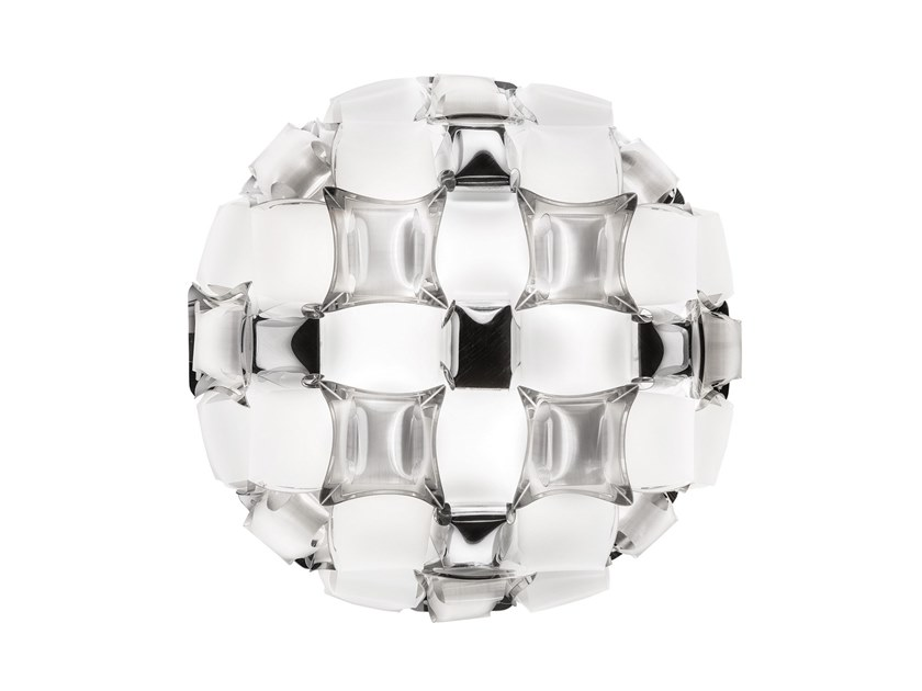 Ceiling lamp SLAMP - MIDA White/Platinum by Archiproducts.com