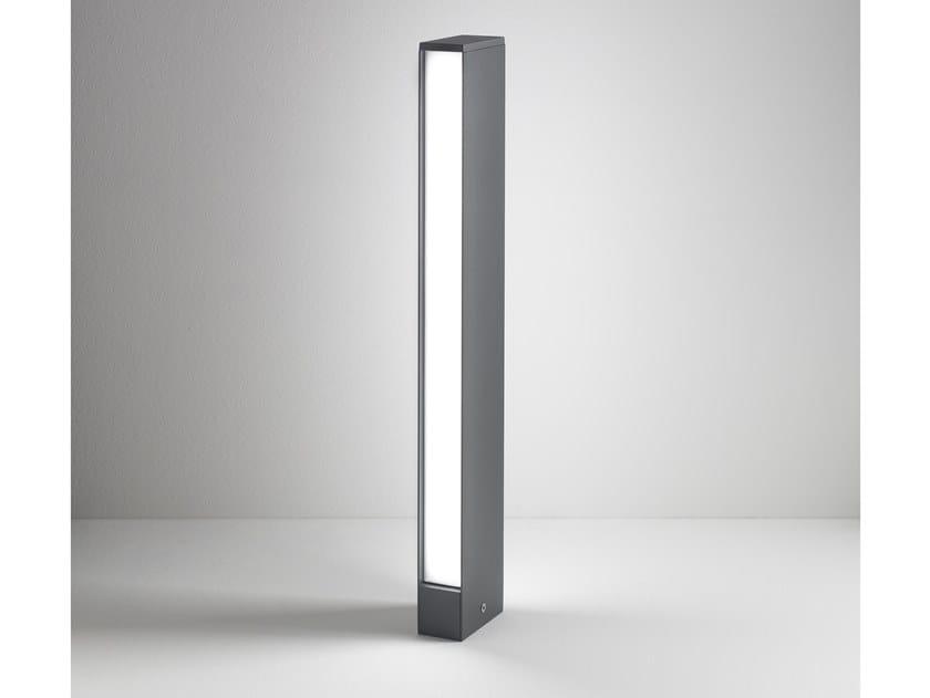 Lampada da terra a LED in alluminio verniciato a polvere SLAT | Lampada da terra by AiLati