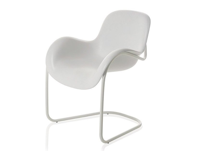 Cantilever polyurethane easy chair SLED by SLIDE