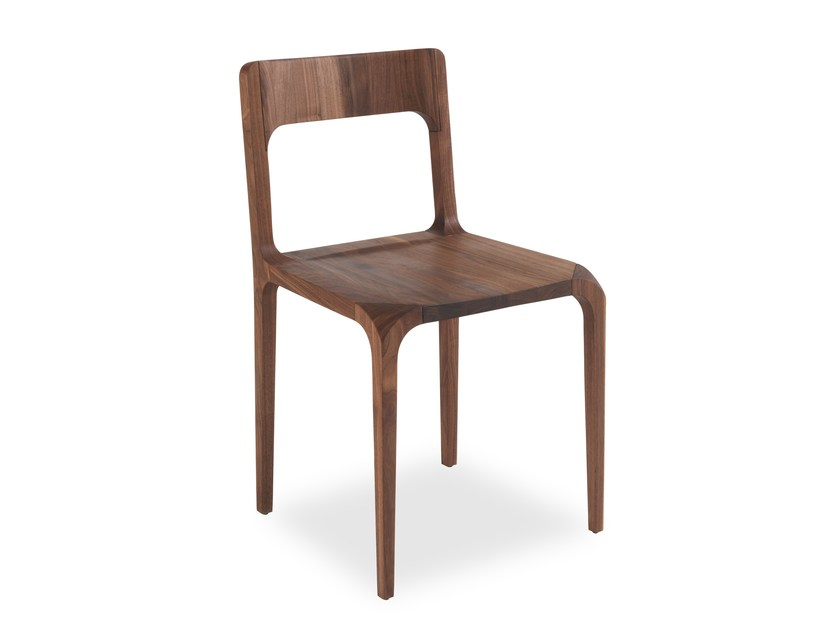 Solid wood chair SLEEK | Chair by Riva 1920