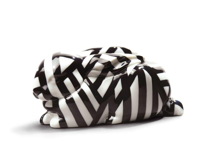 Porcelain decorative object SLEEPING BUNNY by Lladró