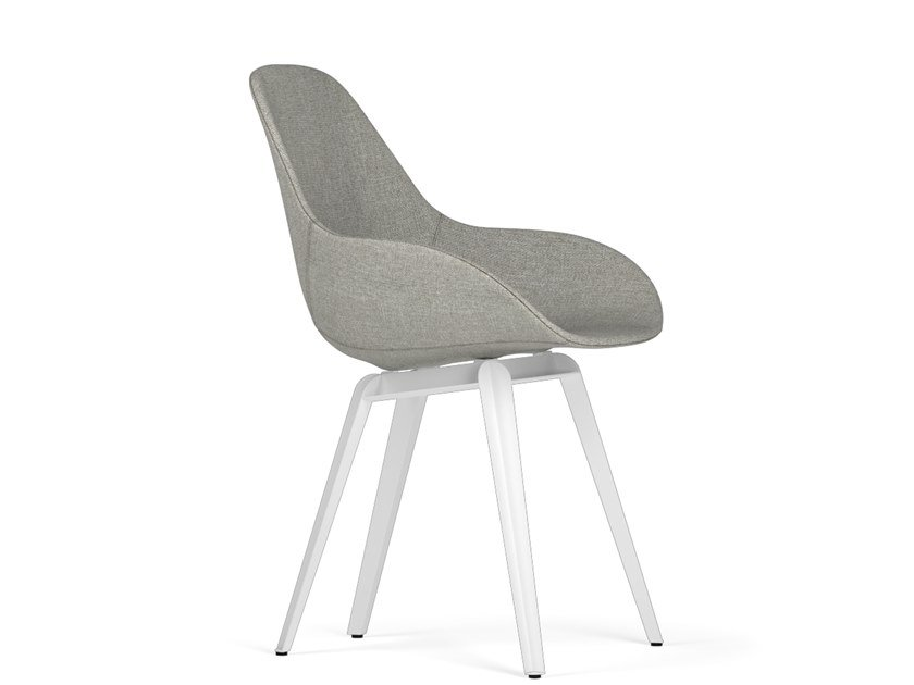 Upholstered chair SLICE DIMPLE POP by KUBIKOFF
