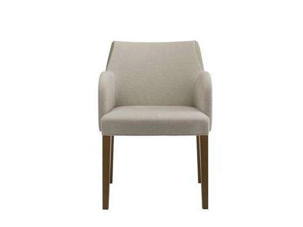 SLICE | Sedia con braccioli By Potocco design Marco Piva