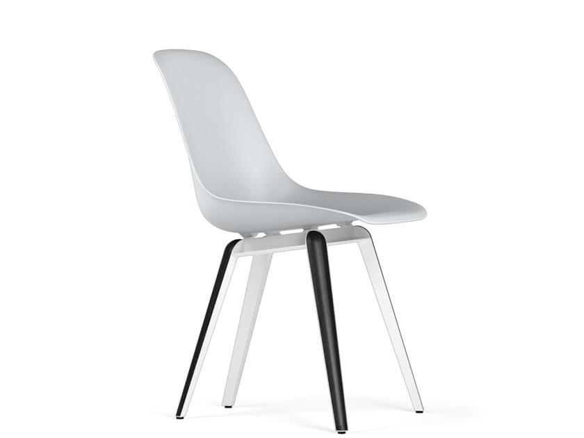 Polypropylene chair SLICE V9 by KUBIKOFF