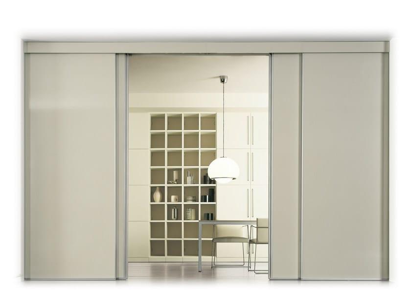 Sliding HPL cabinet door SLIDE by De Rosso