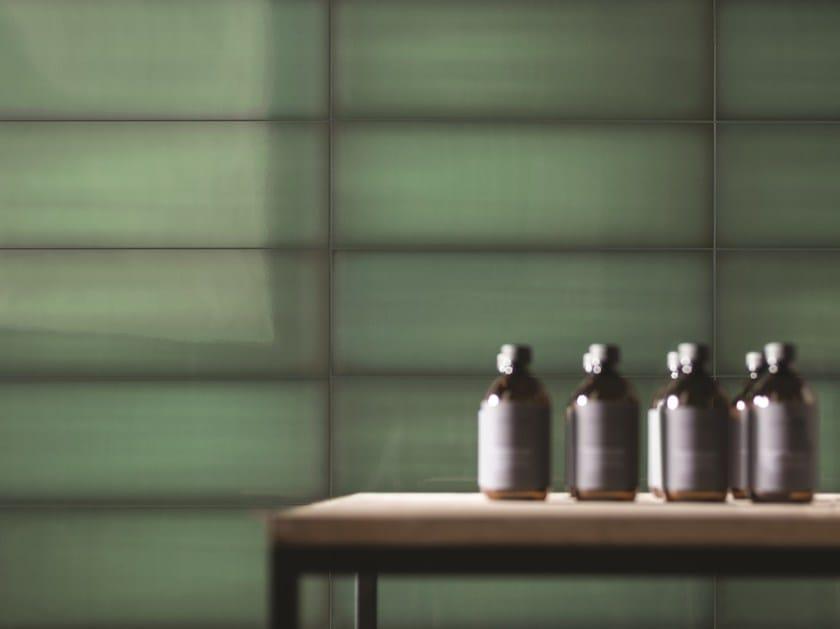 Indoor glass wall/floor tiles SLIDE by Iris Ceramica