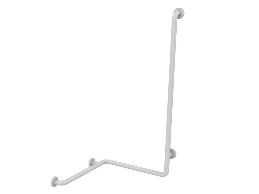 Shower corner rail with vertical rail diameter 34mm Shower grab bar by PRESTO