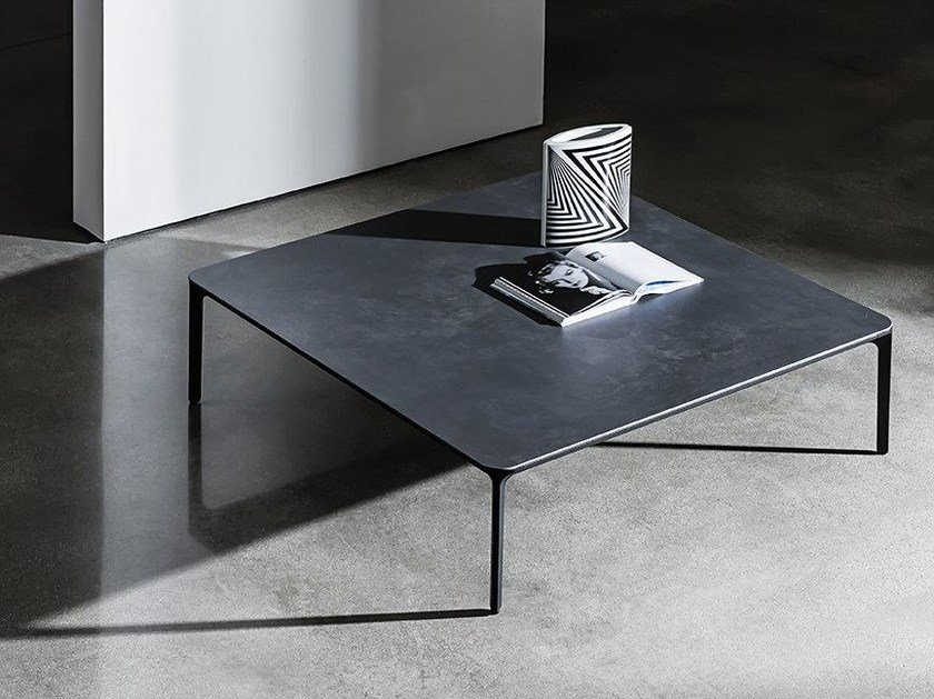 Low coffee table SLIM H. 37 by Sovet italia