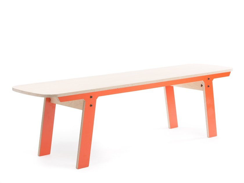 Bench SLIM BENCH 01 MID by rform