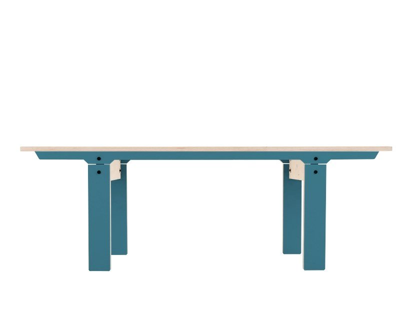 Panca in multistrato SLIM BENCH 04 SMALL by rform